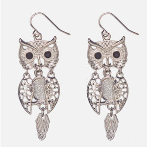 cute owl dangle earrings Avenue